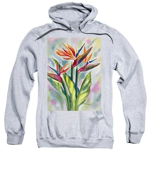 Bird Of Paradise Flowers Sweatshirt