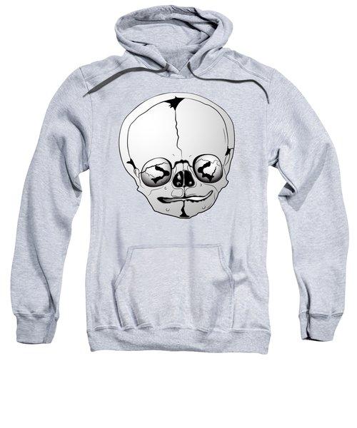 Bizarre Skull Sweatshirt