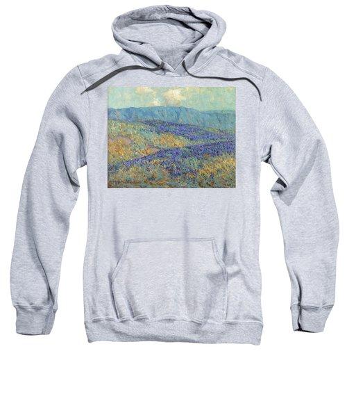 Blue Flowers Sweatshirt