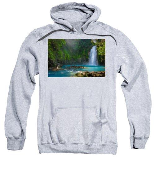 Blue Waterfall Sweatshirt