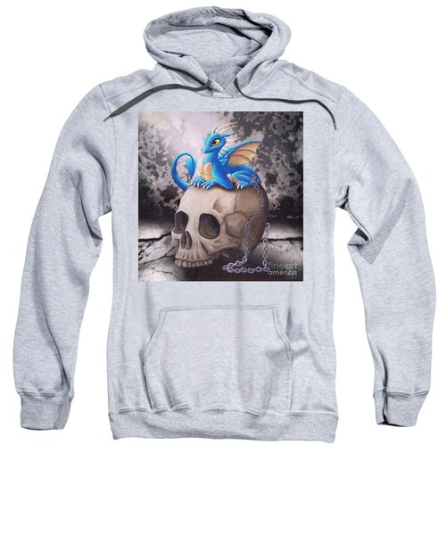 Captive Dragon On An Old Skull Sweatshirt