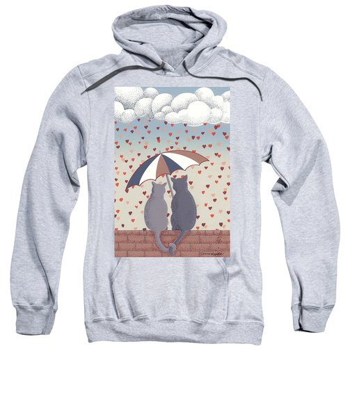 Cats In Love Sweatshirt