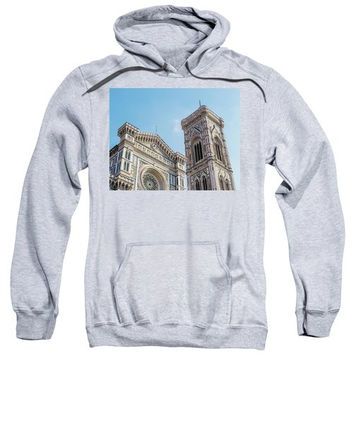 Cattedrale Di Santa Maria Del Fiore Is The Main Church Of Floren Sweatshirt