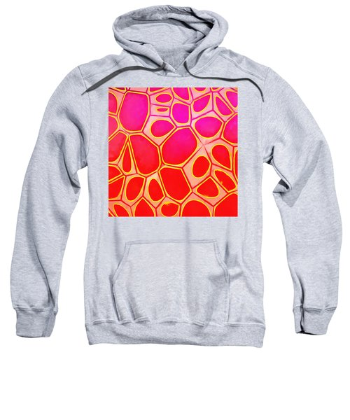 Cells Abstract Three Sweatshirt