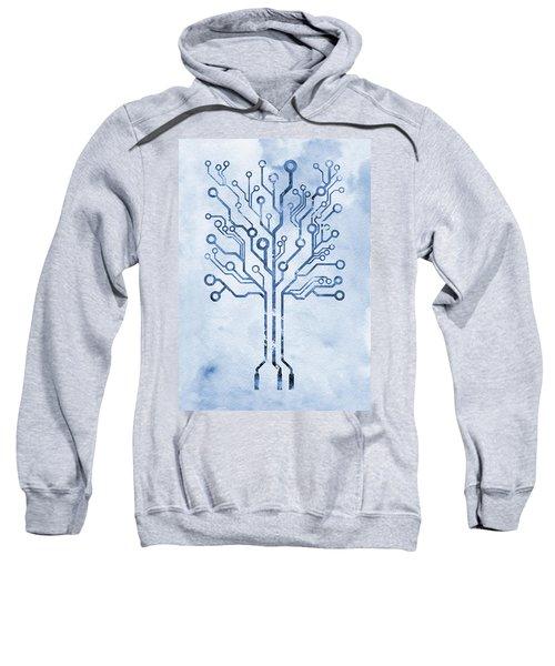 Circuit Board Tree X Sweatshirt
