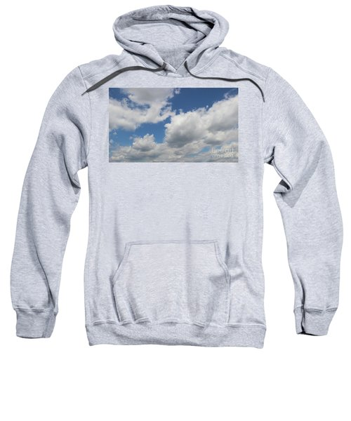 Sweatshirt featuring the photograph Clouds 16 by Rod Ismay