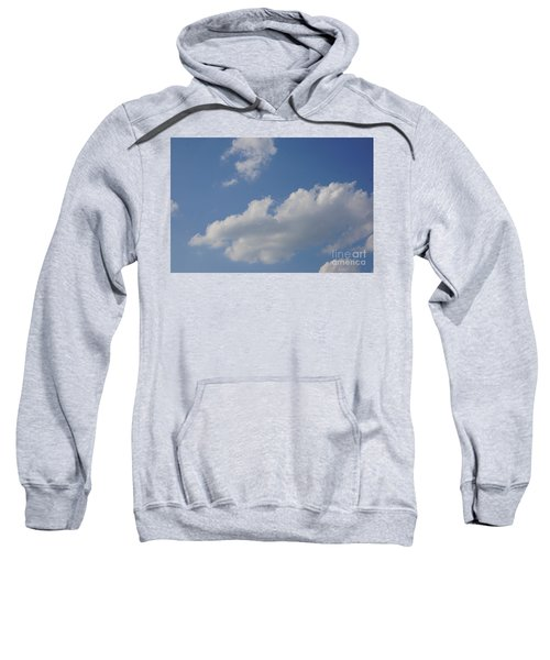 Sweatshirt featuring the photograph Clouds 15 by Rod Ismay