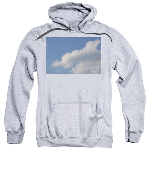 Sweatshirt featuring the photograph Clouds 14 by Rod Ismay