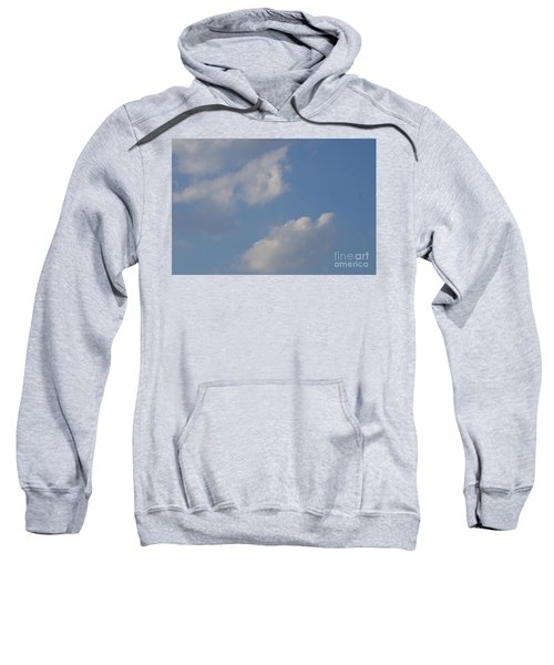 Sweatshirt featuring the photograph Clouds 13 by Rod Ismay