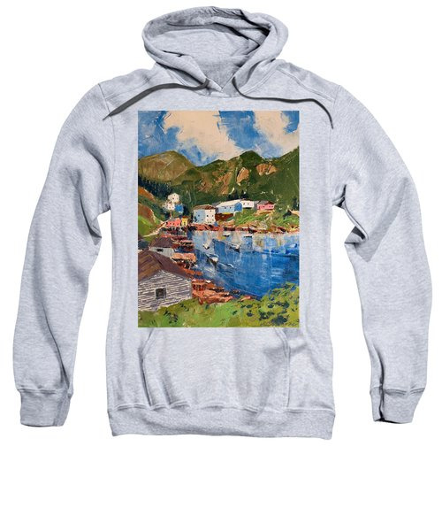 Coastal Village, Newfoundland Sweatshirt