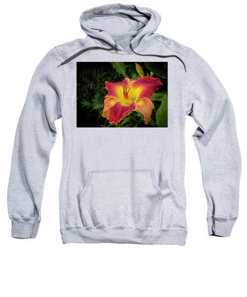 Colorful Lily  Sweatshirt