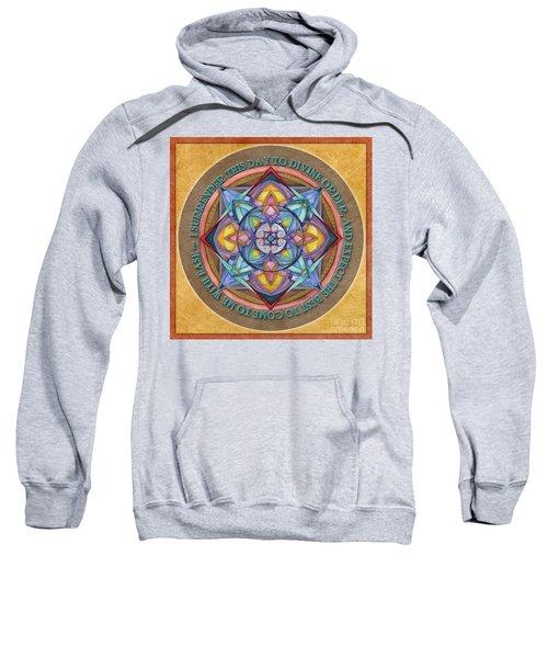 Divine Order Mandala Prayer Sweatshirt