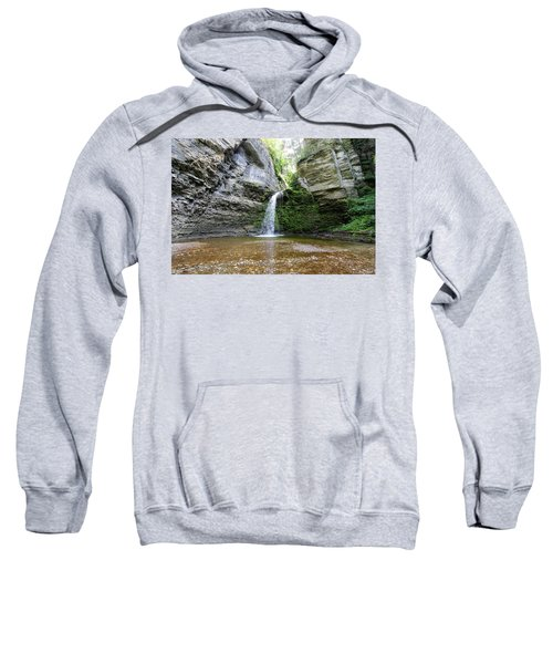 Eagle Cliff Falls In Ny Sweatshirt
