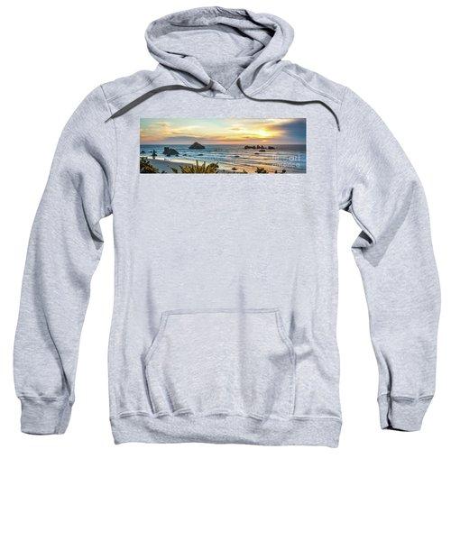 Face Rock At Sunset Sweatshirt
