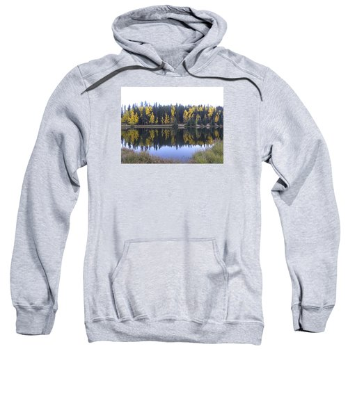 Potty Pond Reflection - Fall Colors Divide Co Sweatshirt