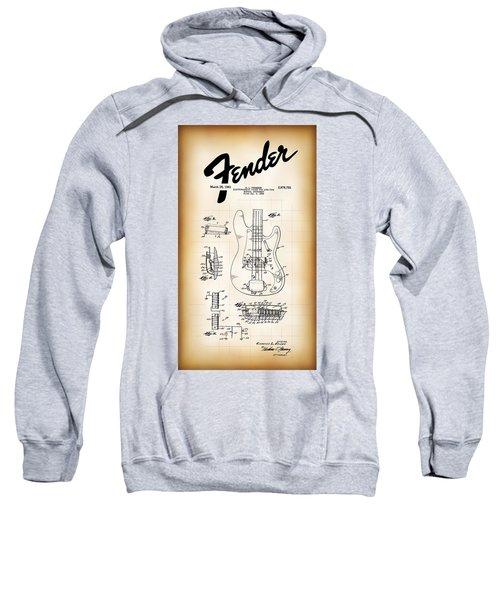 Fender Bass Electric Guitar Patent 1961 Sweatshirt