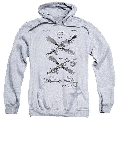 Fish Lure Patent 1933 Sweatshirt