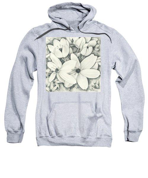 Flowers Pencil Sweatshirt