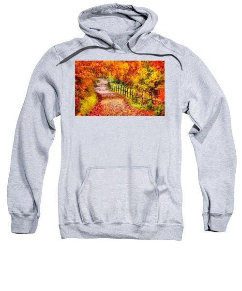 Fall Foliage Path 2 Sweatshirt