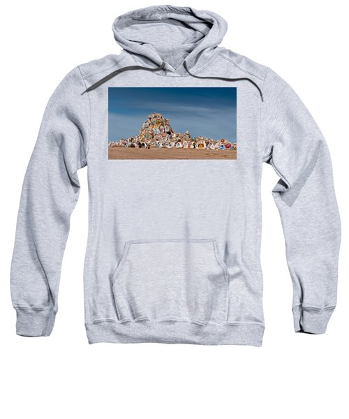 Sweatshirt featuring the photograph Fort Irwin by Jim Thompson