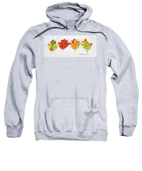 Four Autumn Leaves Sweatshirt