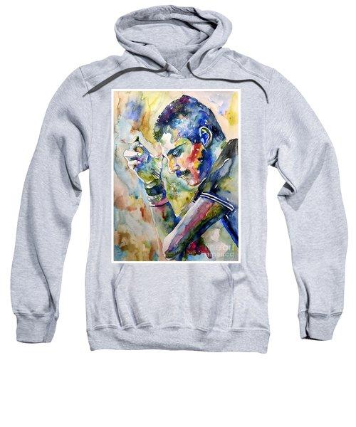 Freddie Mercury Watercolor Sweatshirt