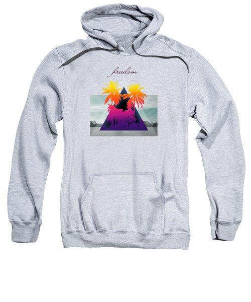 Freedom  Sweatshirt by Mark Ashkenazi