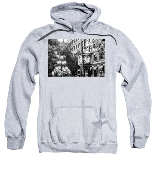 Gastown Steam Clock Sweatshirt