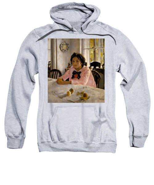 Girl With Peaches Sweatshirt