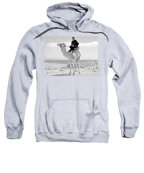 Giza Pyramids Camel Tourist Police Sweatshirt