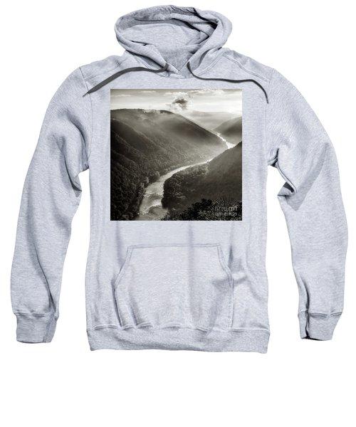 Grandview In Black And White Sweatshirt