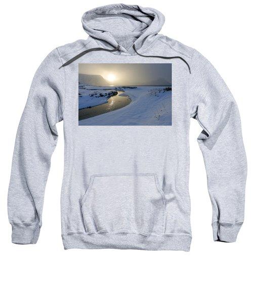 Haukland Beach, Lofoten Sweatshirt