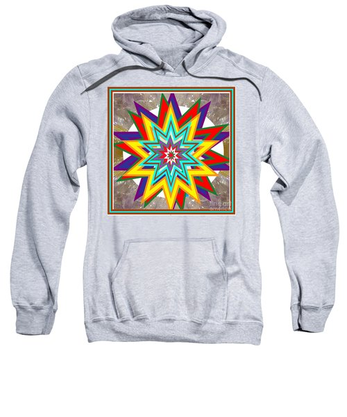Holy Star White Purple Blue On Crystal Stone Marble Unique Shades Tones Textures Buy Wall Decoration Sweatshirt