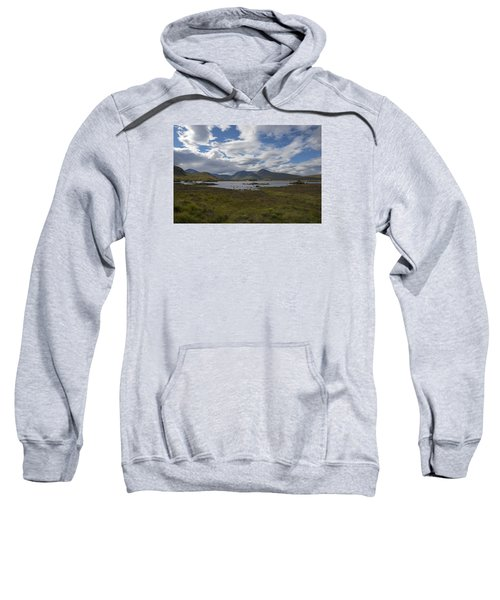 Sweatshirt featuring the photograph In Glencoe Uk by Dubi Roman