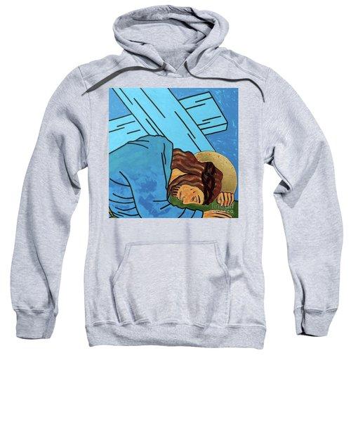 Jesus Falls Sweatshirt