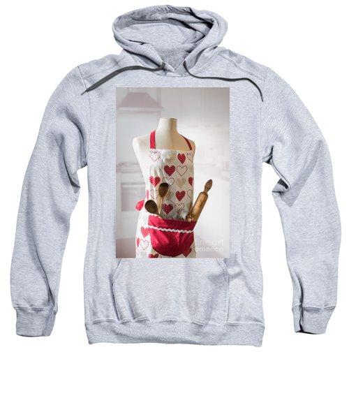 Kitchen Apron Sweatshirt