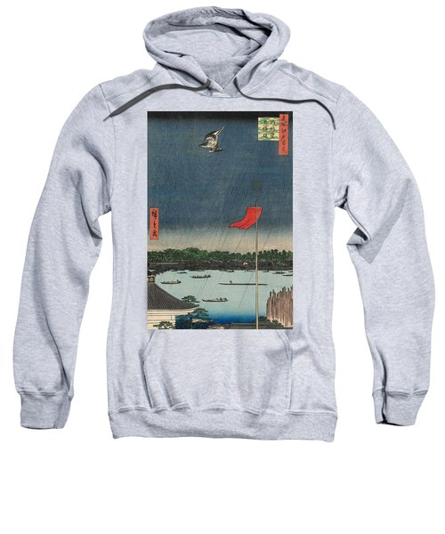 Komagata Hall And Azuma Bridge Sweatshirt