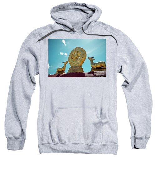 Lhasa Jokhang Temple Fragment Tibet Sweatshirt