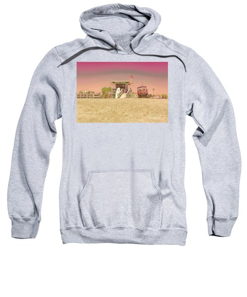 Lifeguard Tower 3 Sweatshirt