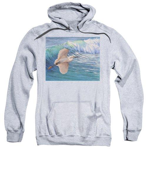 Little Egret Sweatshirt