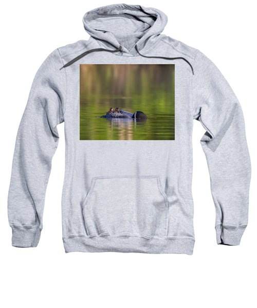 Loon Chick Yawn Sweatshirt