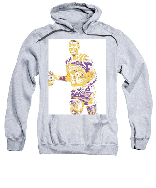 Magic Johnson Los Angeles Lakers Pixel Art 5 Sweatshirt