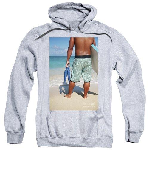 Male Bodyboarder Sweatshirt