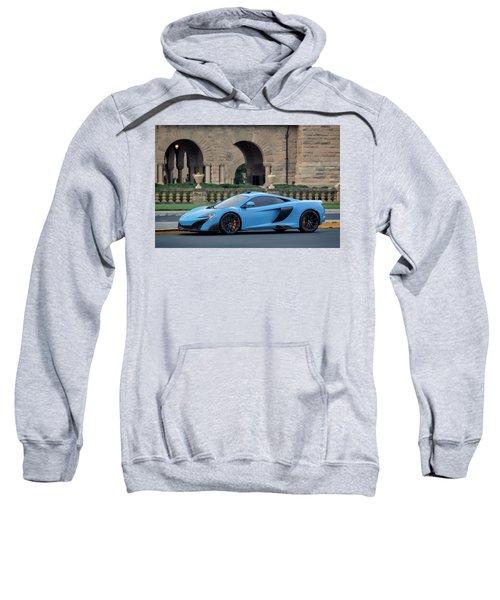 #mclaren #675lt With #pirelli #tires Sweatshirt