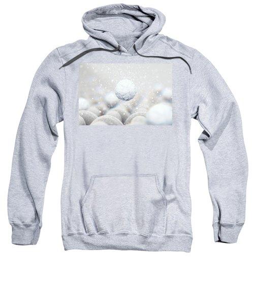 Micro Fabric Weave And Washing Powder Sweatshirt