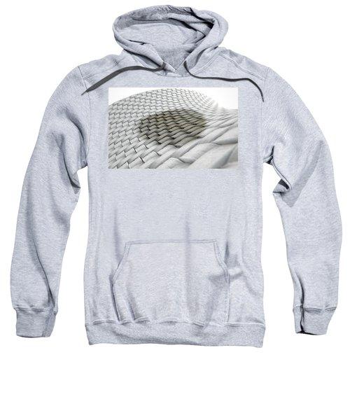 Micro Fabric Weave Stain Sweatshirt