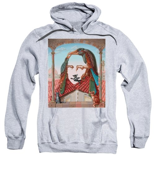 Mona Lisa. Air Sweatshirt