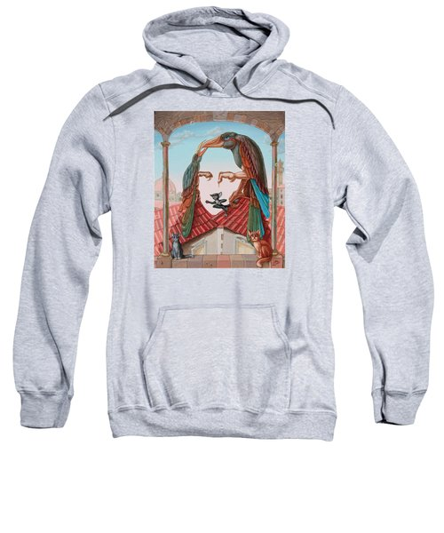 Mona Lisa. Air Sweatshirt