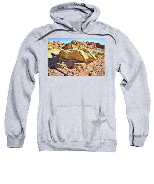 Morning In Wash 3 In Valley Of Fire Sweatshirt