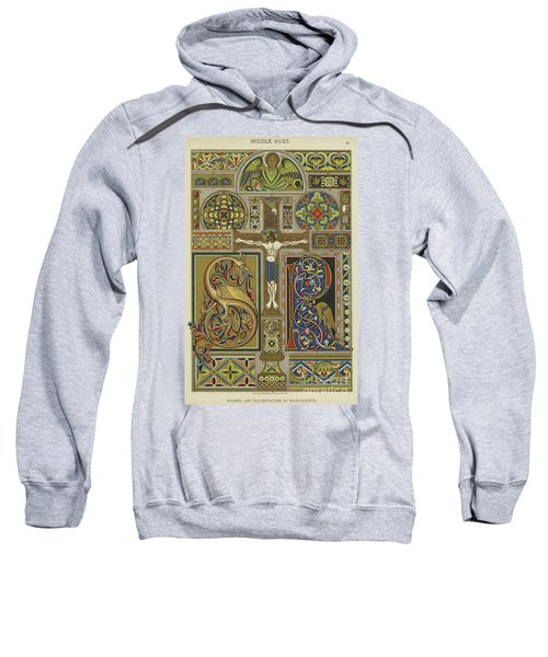Mosaic Patterns From The Middle Ages Sweatshirt